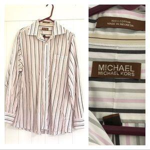 Michael Kors Men's Long Sleeves Shirt